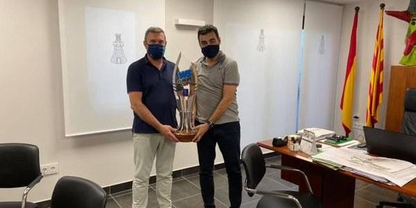 """Trofeu de la 3a Copa d'Europa """"Club Llista Blava"""" d'hockei"""